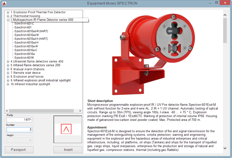 Add On Plugin For Autocad Designing Of Industrial Fire Safety