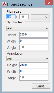 Add-on (plugin) for AutoCAD – Designing of industrial fire