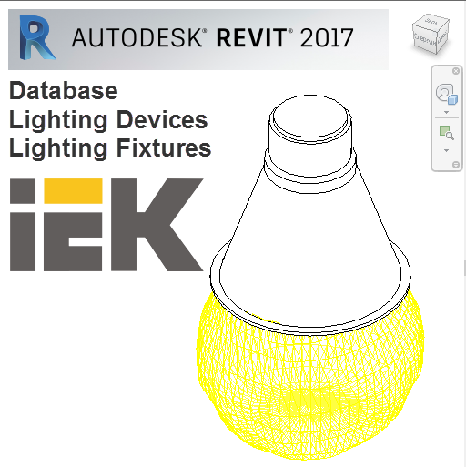 Database for Autodesk Revit, libraries for AutoCAD, 3D