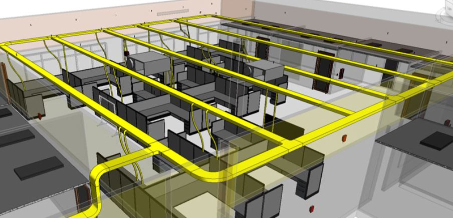 3d Cable Trays For Autodesk Revit Produced By Iek
